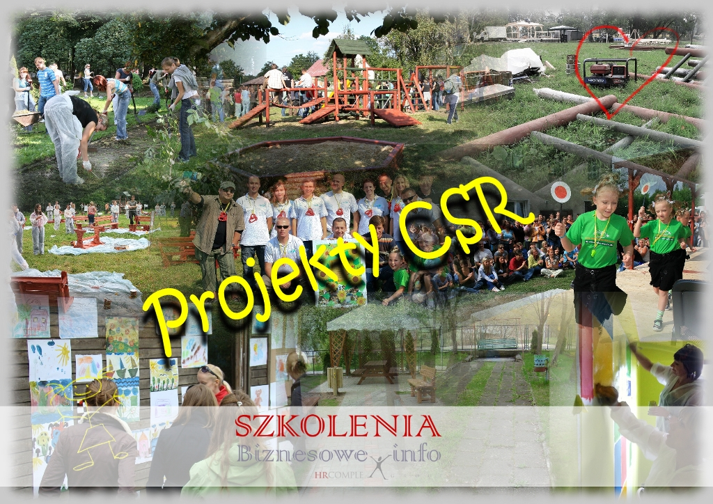 Projekty CSR